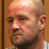 Anthony Paul Doyle, who blasted a couple to death with a shotgun under a bridge near Tauranga after a dispute over a drug debt, sentenced to life imprisonment with a minimum non-parole period of 19 years. Photo / Alan Gibson