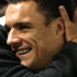 Daniel Carter is hugged by a fan after the Tri-Nations match. Photo / Getty Images