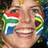 South African fans show their support during the Tri-Nations match. Photo / Getty Images