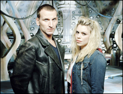 Christopher Eccleston stars as the new Doctor Who, with former pop star Billie Piper as his sidekick Rose.