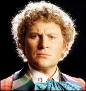 Colin Baker travelled in the Tardis for three years.