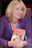 Harry Potter author J K Rowling. Picture / Reuters