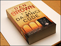 The Da Vinci Code is a popular choice for politicians.
