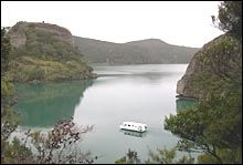 A houseboat is just like a big caravan afloat and a lovely way to see Whangaroa Harbour with its many isolated bays and peaceful anchorages, towering stone cliffs and sandy beaches fringed by untouched bush.