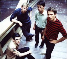 Scottish rock band Franz Ferdinand.