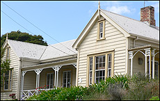 The former Bishop's House, built in 1852, in St Mary's Rd, Ponsonby. Picture / Jim Eagles