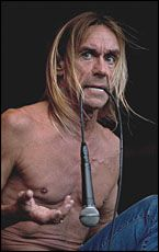 Iggy Pop relived his early hits in wild style.