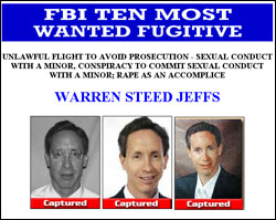 The FBI's most wanted website.