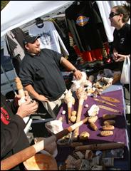 Otara market is a melting pot of cultures. Picture / Simone Egger