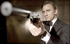 Daniel Craig has been credited by critics with revitalising the Bond film series