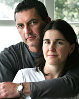 Steve Hausman and Paula Brosnahan were shocked by the email.  Picture / Jan