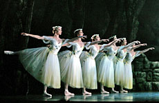 Royal New Zealand Ballet artists in Giselle.