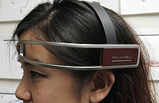 Nintendo's new NeuroSky technology headset.