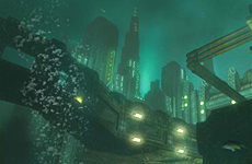 A screenshot from the game 'Bioshock'.
