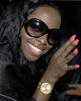 Foxy Brown. Photo / Reuters