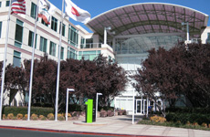 Apple's HQ at No 1, Infinite Loop, in Cupertino, California.