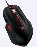 The new SideWinder is a serious mouse for serious gamers.