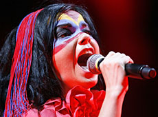 Icelandic singer Bjork will perform at the January 08 music festival in Auckland. Photo / Reuters
