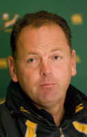 South Africa rugby coach Jake White. Photo / Reuters