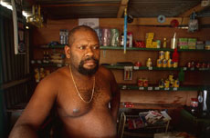 Victor Telukluk is one of the many kava-makers on Vanuatu. Photo / Steve Sole