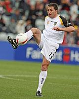 Phoenix midfielder Richard Johnson has played against David Beckham in the English Premier League. Photo / Getty Images