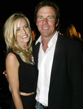 Dennis Quaid and his wife, Kimberly Buffington. Photo / Reuters
