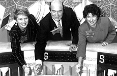 Game shows like Wheel of Fortune kept pulses racing back in the nineties.