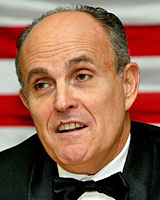 Rudolph Giuliani is a frontrunner for the Republican nomination. Photo / Martin Sykes