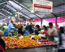 The vast number of stalls have a huge variety of food to supply the many cuisines. Photo / Visions of Victoria