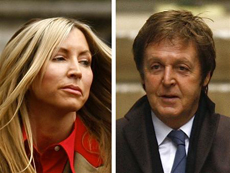 Heather Mills and Paul McCartney. Photo / Reuters