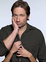 David Duchovny stars in the television series 'Californication'.