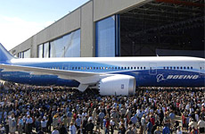 Boeing's delight at launching the Dreamliner in Seattle last year has been tempered by delays with the roll-out.