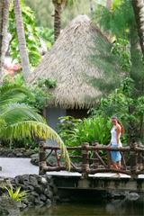 Lush foliage at Pacific Resort. Photo / Supplied