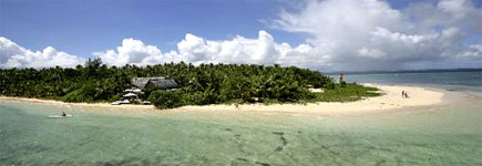 Fafa Island Resort manages to be luxurious and laidback. Photo / Supplied