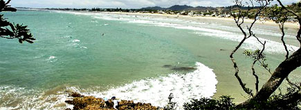 Waihi Beach offers a 10km stretch of unspoiled white sand that stretches from the surf club at one end to Bowentown at the other. Photo / Bay of Plenty Times