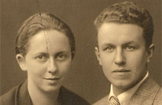 Cathrin Schaer's Oma and Opa, who were incarcerated by the Nazi regime. Photo / Supplied