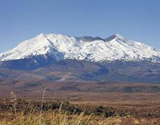 Mt Ruapehu erupted nine months ago. File photo / Sarah Ivey