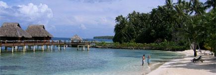 Bora Bora is a magnet for honeymooners. Photo / Megan Singleton