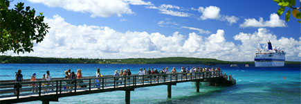 Lifou has around 10,000 residents who speak a local language called Drehu, learning French when they start school. Photo / Martin Sykes