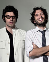 Flight of the Conchords are up for three NZ Music awards. Photo / Supplied