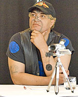 Eugene Ryder blames colonisation for NZ's gang culture. Photo / Herald on Sunday