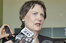 Helen Clark says Labour will not announce any further big-spending policies. Photo / Sarah Ivey