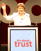 Helen Clark will be remembered more for her management abilities than a capacity to inspire. Photo / Glen Jeffrey
