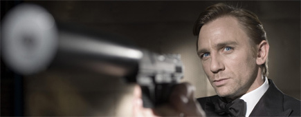 Daniel Craig says he can handle a gun. Photo / Supplied