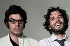 Flight of the Conchords walked away with four awards. Photo / Supplied