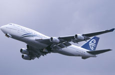 The threat of an aviation hijacking in NZ is low according to the Airline Pilots Association. Photo / Christchurch Star