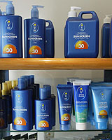 The Cancer Society sells a range of sun protection products.