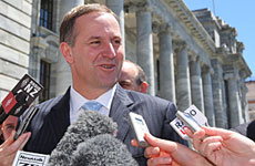 John Key says the titles are about celebrating success. Photo / Mark Mitchell