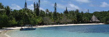 Kanumera Bay is one of the jewels in New Caledonia's crown. Photo / Martha McKenzie-Minifie