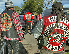 The law banning gang patches in Wanganui is a New Zealand first. Photo / Brett Phibbs